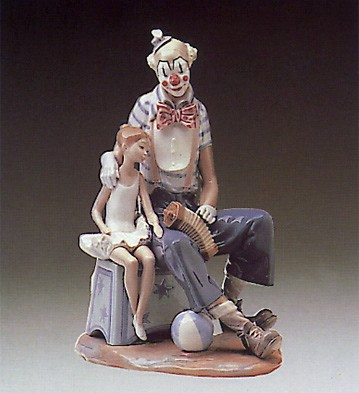 Lladro At The Circus 1980-85 Porcelain Figurine