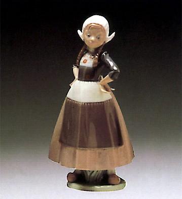 LladroGretel Dutch Girl 1980-85
