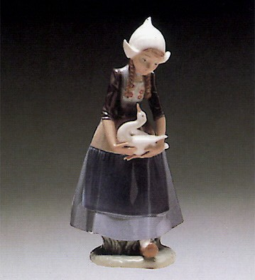 Lladro Ilsa Dutch Girl 1980-85 Porcelain Figurine