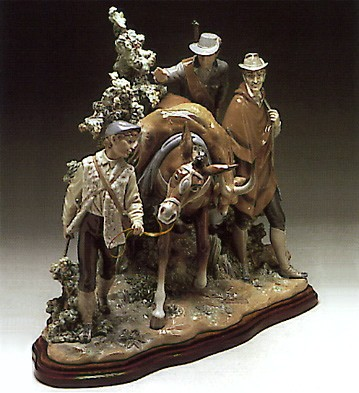 Lladro Successful Hunt Le1000   1980-93