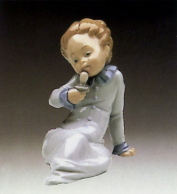 Lladro Baby with Pacifier 1982-85