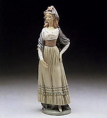 LladroGoya Lady 1982-1990Porcelain Figurine