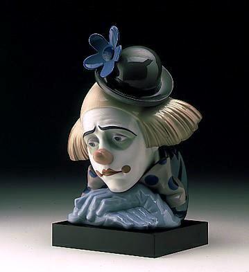 LladroPensive Clown 1982-00