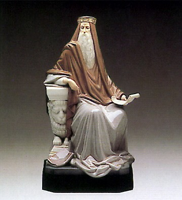 Lladro King Solomon 1982-85 Porcelain Figurine
