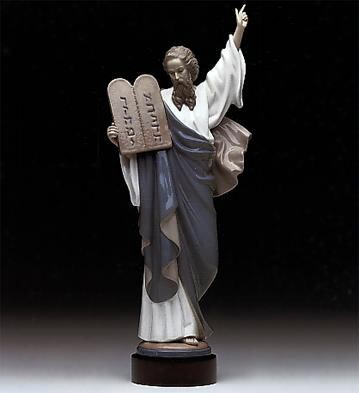 Lladro Moses 1982-2000 Porcelain Figurine