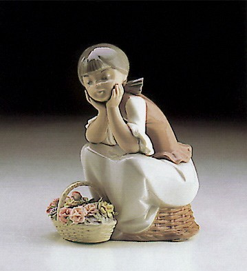 LladroPondering 1982-93Porcelain Figurine