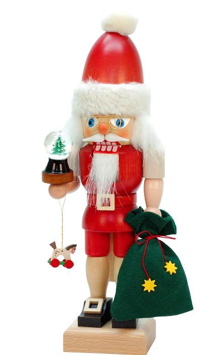 Christian UlbrichtSanta Claus holding a small snowglobeNutcracker