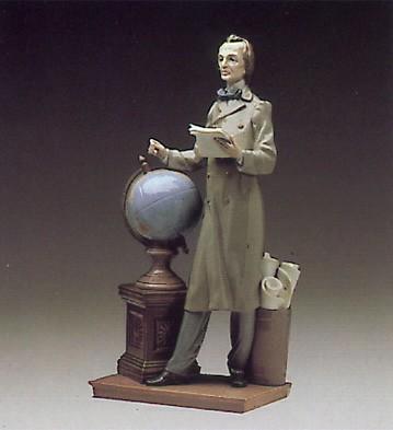 LladroThe Professor 1984-90Porcelain Figurine