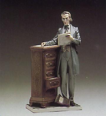 LladroAttourney 1984-97Porcelain Figurine