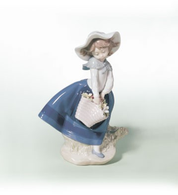 Retired Lladro Pretty Pickings