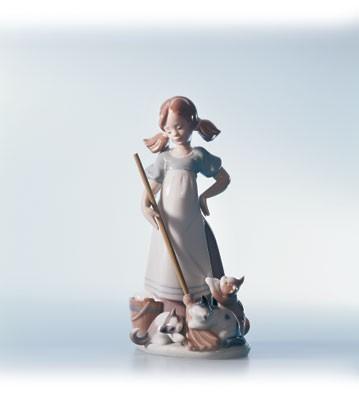 LladroPlayful Kittens 1984-02Porcelain Figurine