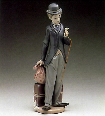Lladro Charlie The Tramp 1984-88 Porcelain Figurine