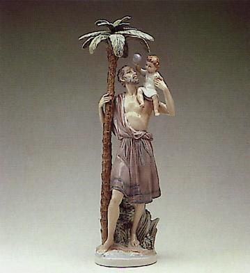 LladroSt. Cristobal 1984-88Porcelain Figurine
