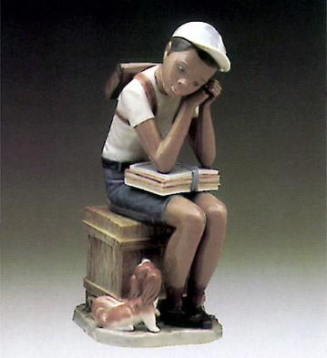 LladroExam Day 1984-94Porcelain Figurine