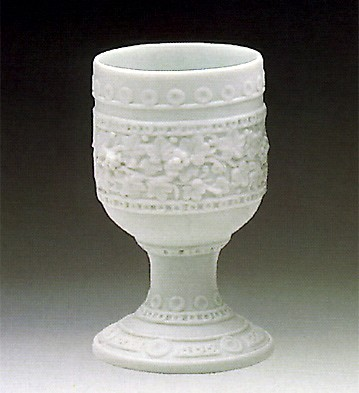 LladroDecorated Chalice 1984-89Porcelain Figurine