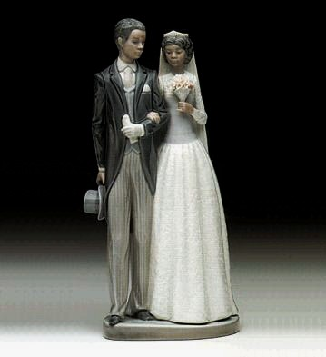Lladro Wedding Day 1985-99 Porcelain Figurine