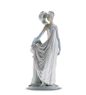LladroSocialite Of The 20's 1985-01Porcelain Figurine