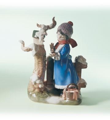LladroWinter Frost 1985-07Porcelain Figurine