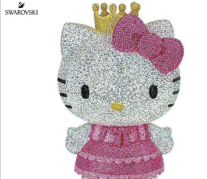 Swarovski CrystalMyriad Hello Kitty Princess