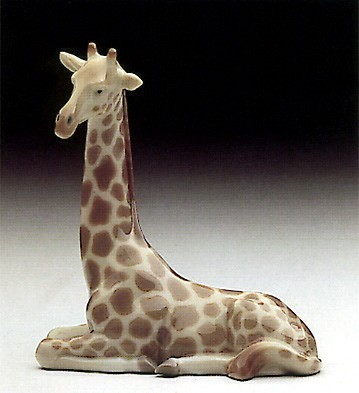 LladroMini Giraffe 1985-90Porcelain Figurine