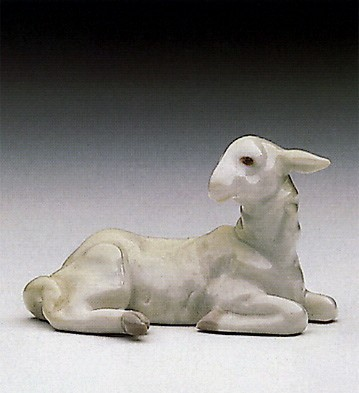 Lladro MINI LAMB Porcelain Figurine