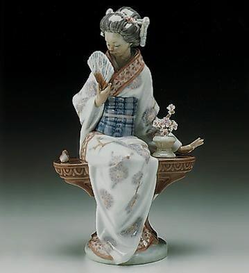 LladroNippon Lady 1985-00Porcelain Figurine