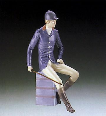 LladroGentleman Equestrian 1985-87Porcelain Figurine