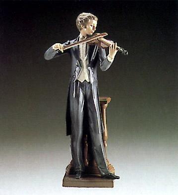LladroConcert Violinist