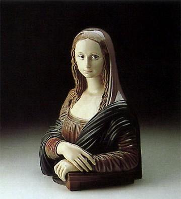 LladroLa Gioconda 1985-88Porcelain Figurine