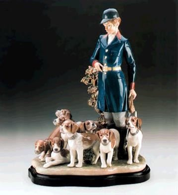 Lladro Master Of The Hounds Le3000