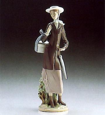 LladroA New Hat 1986-89Porcelain Figurine