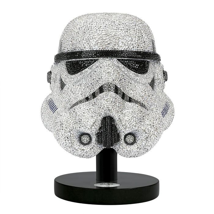 Swarovski CrystalMyriad Star Wars Stormtrooper Helmet