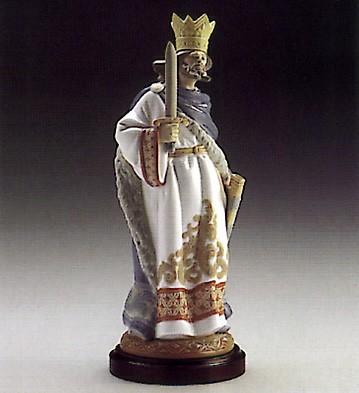 LladroRey De Espadas Le2000 1986-93Porcelain Figurine