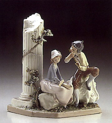 Lladro Lovers Serenade 1986-89