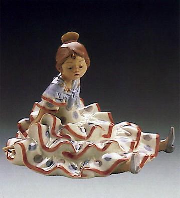 LladroA Time To Rest 1986-89Porcelain Figurine