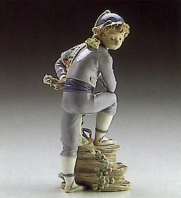 LladroValencian Boy 1986-91Porcelain Figurine