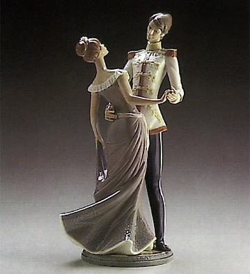Lladro At The Ball 1986-91 Porcelain Figurine
