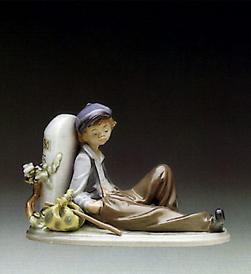 LladroA Time To Rest 1987-93Porcelain Figurine