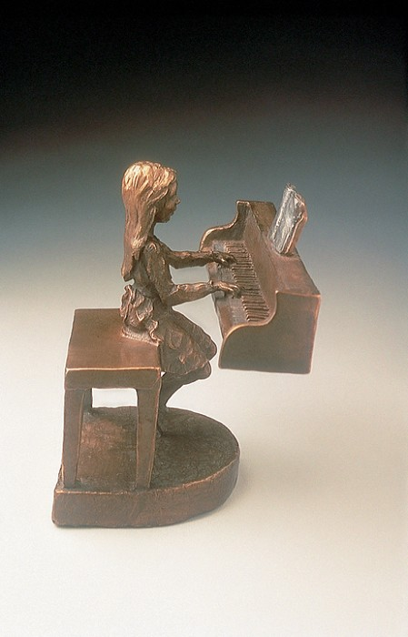 Mark Hopkins Practice Bronze Sculpture