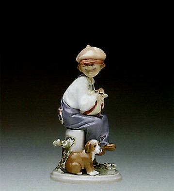 Lladro My Best Friend 1987-98 Porcelain Figurine