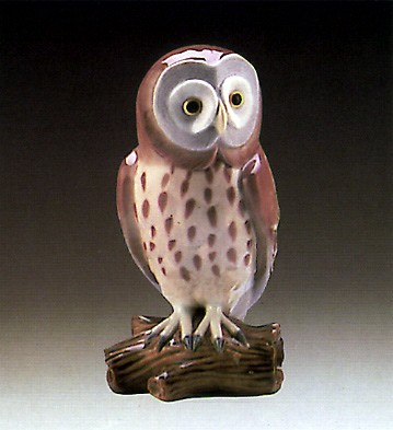 Lladro Great Gray Owl 1987-90