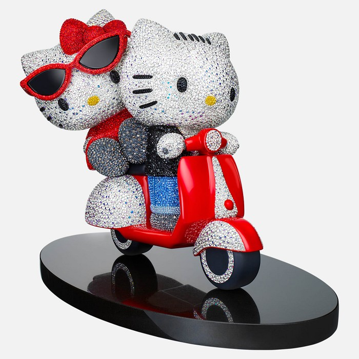 Swarovski Crystal Myriad Hello Kitty & Dear Daniel