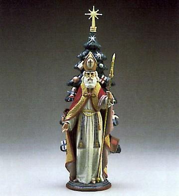 LladroSaint Nicholas 1987-91Porcelain Figurine