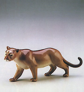 Lladro Minature Cougar 1987-90 Porcelain Figurine