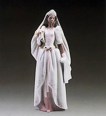 LladroThe Black Bride 1987-95Porcelain Figurine