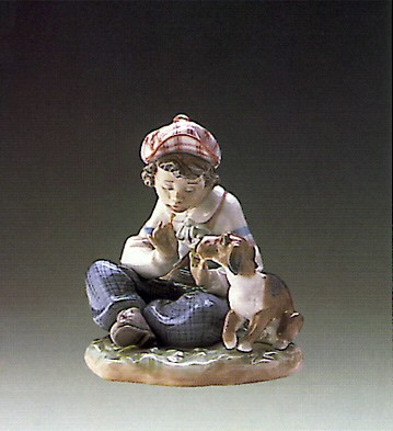 Lladro I Hope She Does 1987-98 Porcelain Figurine