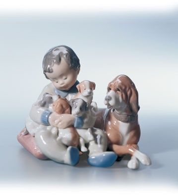 Lladro New Playmates 1988-04 Porcelain Figurine