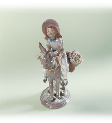 Lladro Look At Me 1988-91 Porcelain Figurine