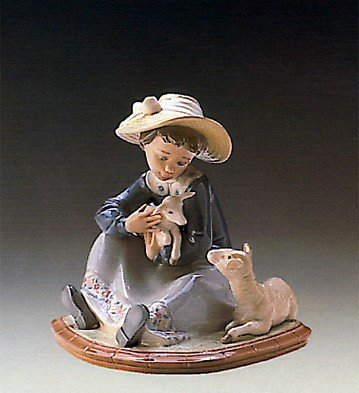 LladroLambkins 1988-93Porcelain Figurine