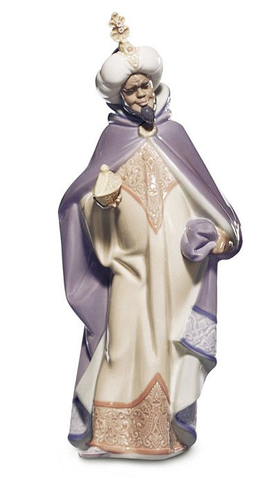 Lladro Black Legacy KING BALTHASAR Porcelain Figurine